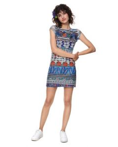 VESTIDO SLIM TROPICAL FIONA
